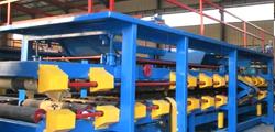 Composite board production line