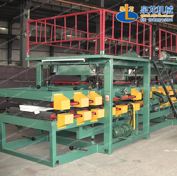 EPS sandwich panel production line video