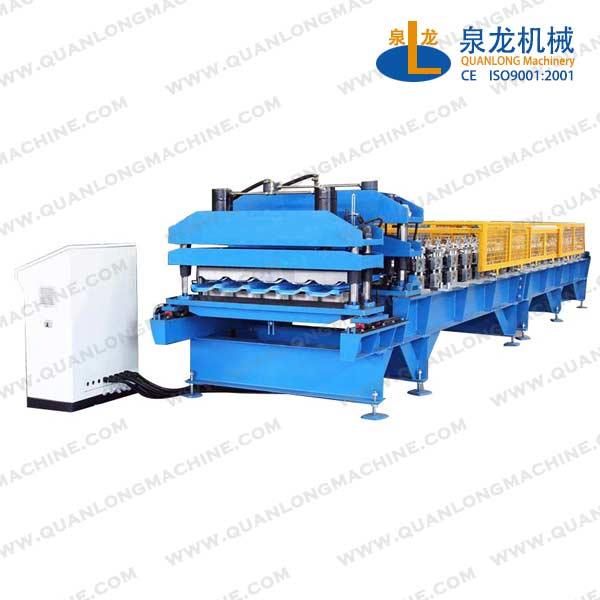 Glazed Tile Roll Forming Machine Line